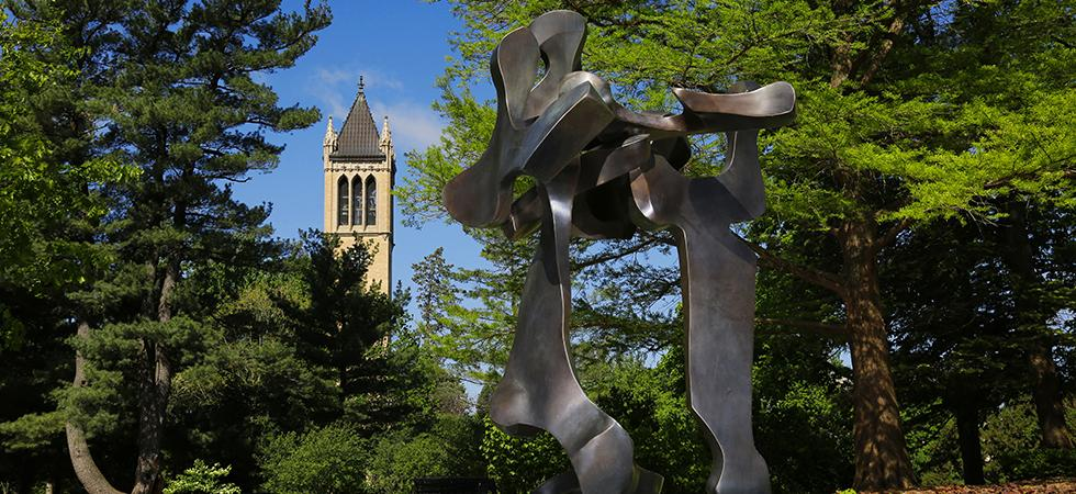Iowa State University has the largest Art on Campus collection of any public university in the nation.